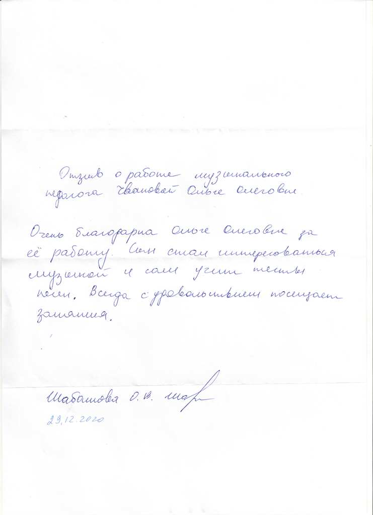 Чванова 29.12.2020
