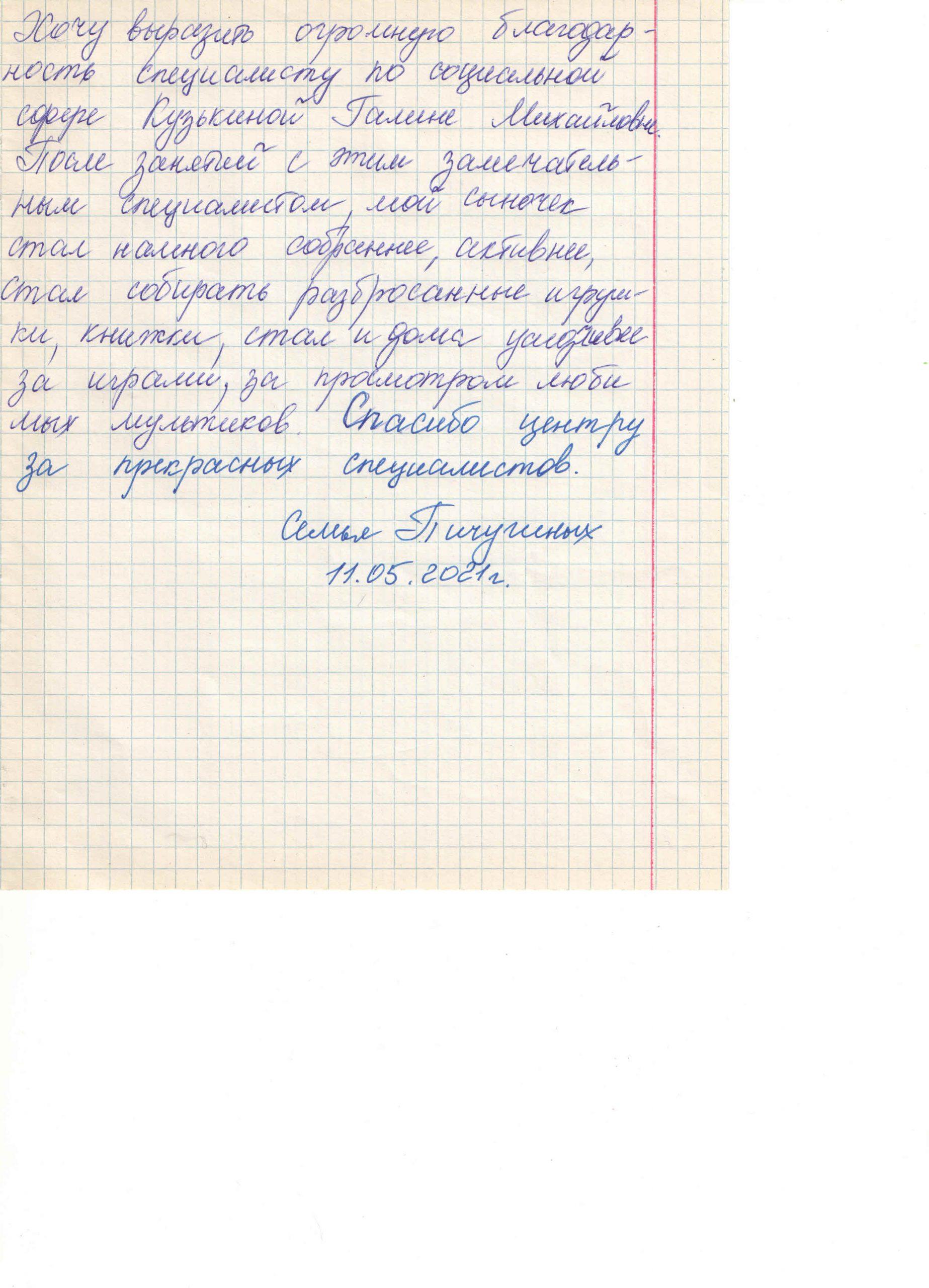 Кузькина 11.05.2021